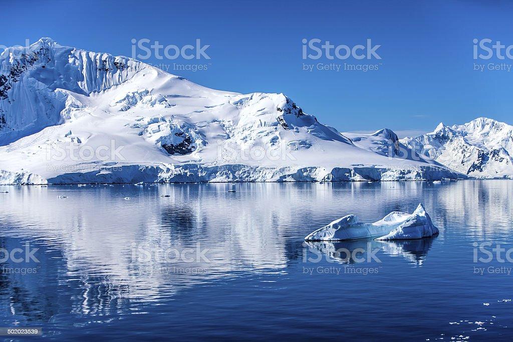 Antarctica Landscape-7 stock photo