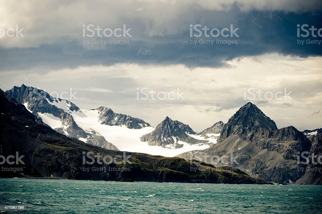 Antarctica Mountains stock photo