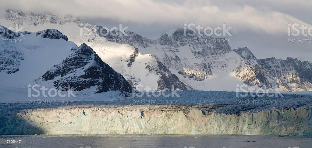 Antarctica Panorama 05 royalty-free stock photo