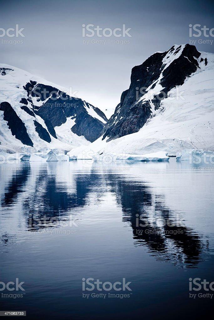 Antarctica Paradise Bay royalty-free stock photo