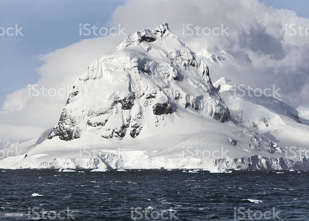 Antarctica. Petermann island stock photo