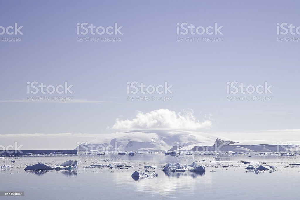 antarctica polar landscape royalty-free stock photo