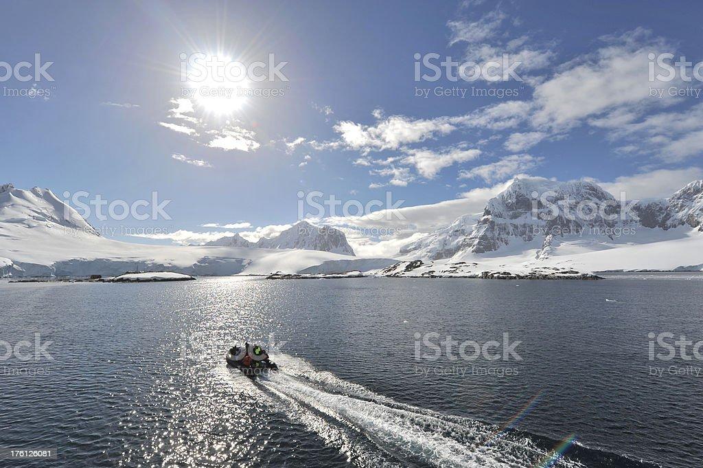 Antarctica Vacation royalty-free stock photo