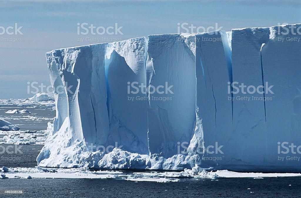 Antarctica, Weddell Sea, Iceberg stock photo