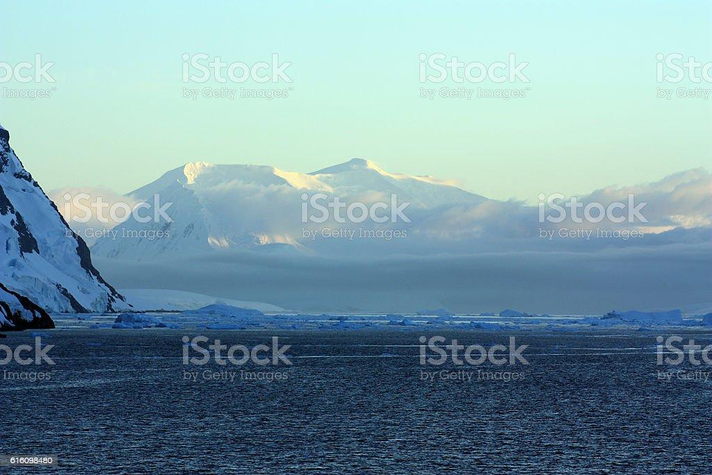 Antarktis-Lemaire Kanal stock photo