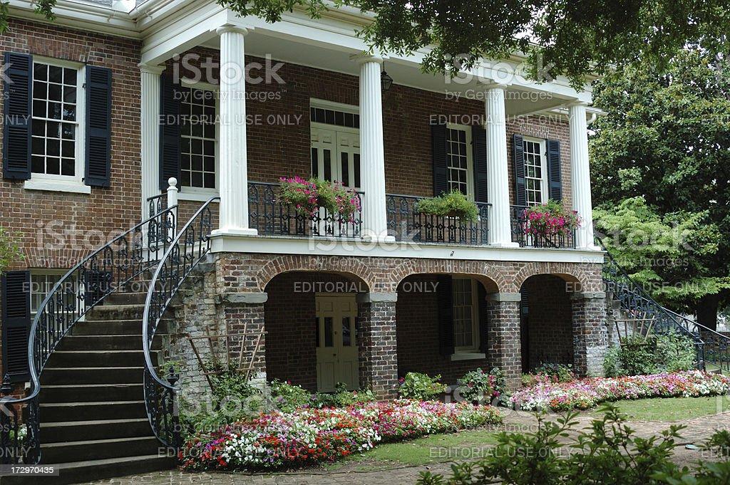 Antebellum Home stock photo