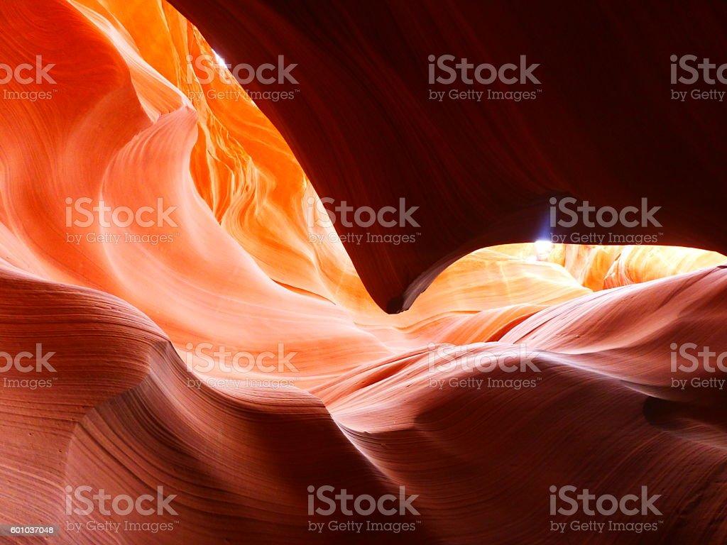 Antelop canyon stock photo