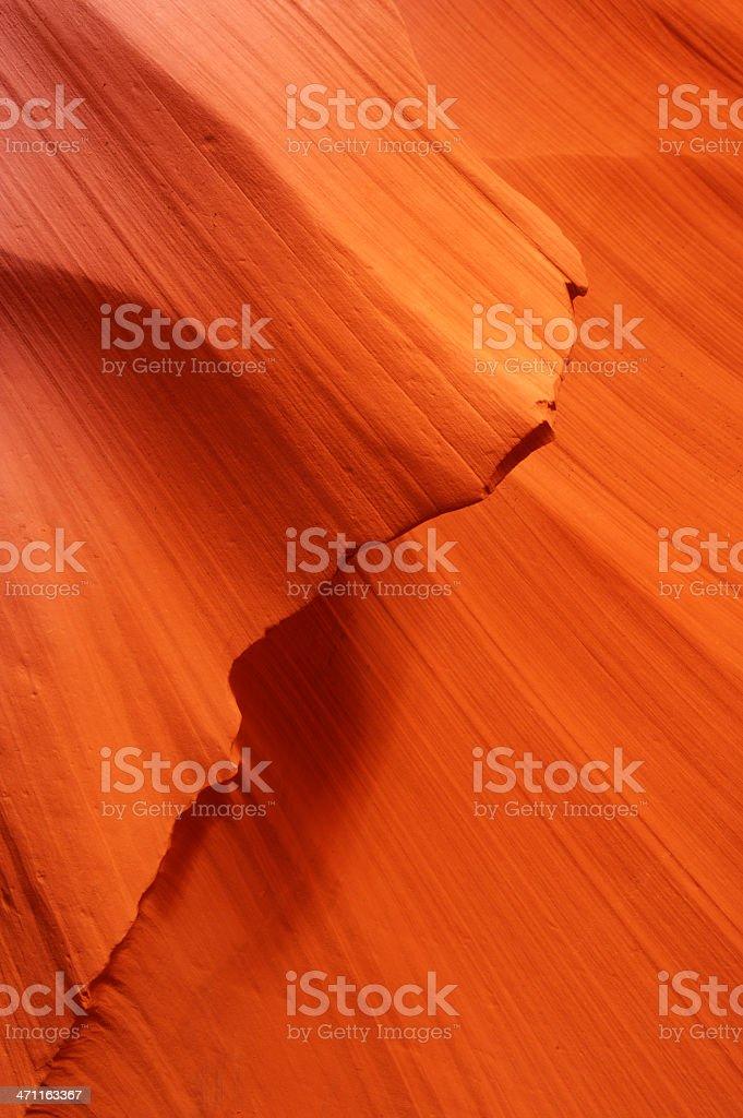 Antelope Canyon abstract royalty-free stock photo