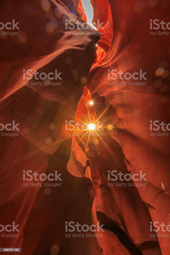 Antelope Canyon, Arizona, USA stock photo