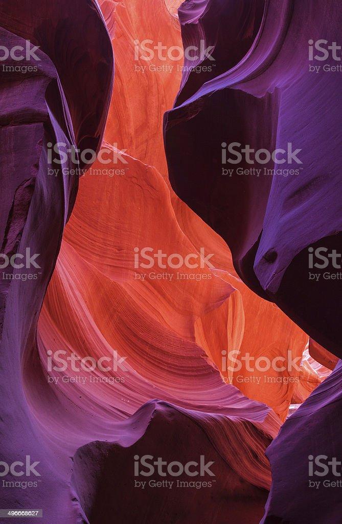 Antelope Canyon, Arizona,USA royalty-free stock photo