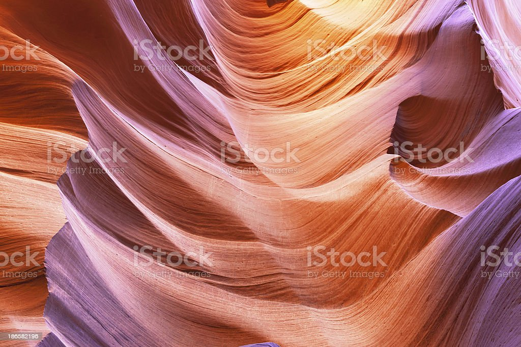 Antelope canyon in Arizona United States of America royalty-free stock photo