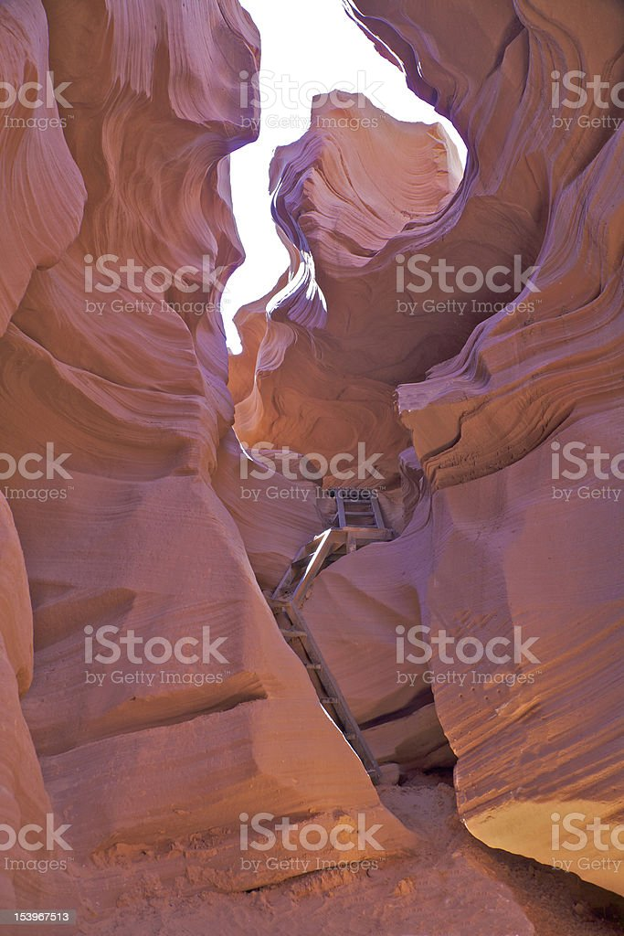 Antelope Canyon Page Arizona royalty-free stock photo