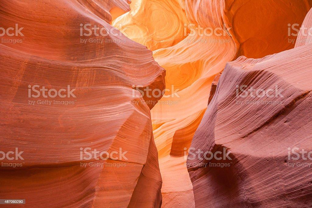 Antelope Canyon Page Arizona stock photo