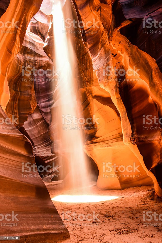 Antelope Canyon, Page stock photo