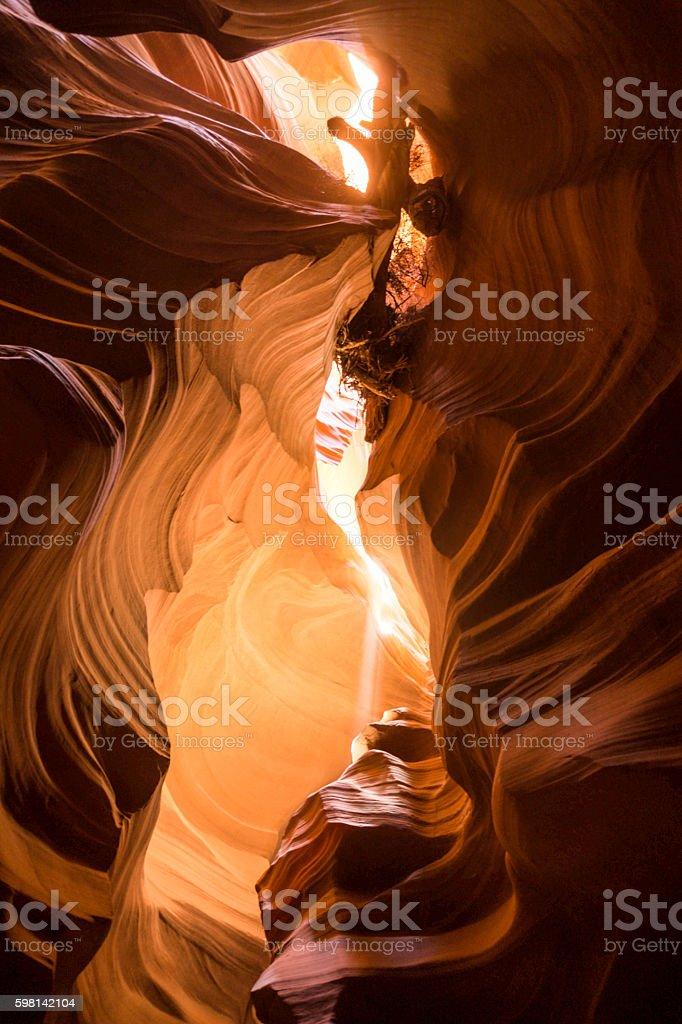 Antelope Canyon stock photo