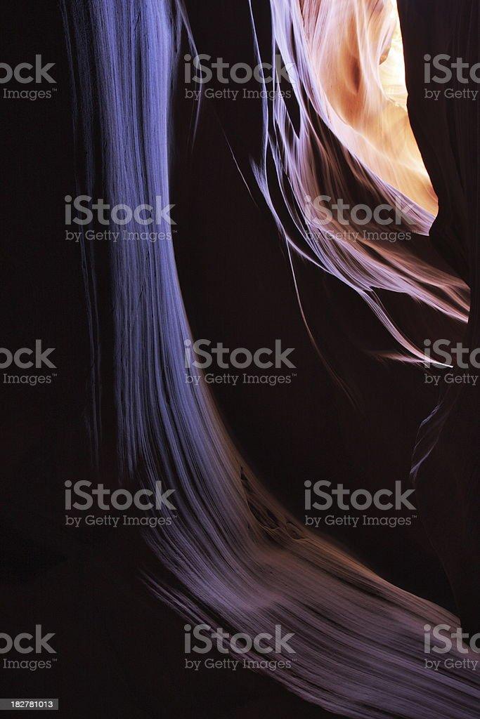 Antelope Canyon Rock Strata royalty-free stock photo