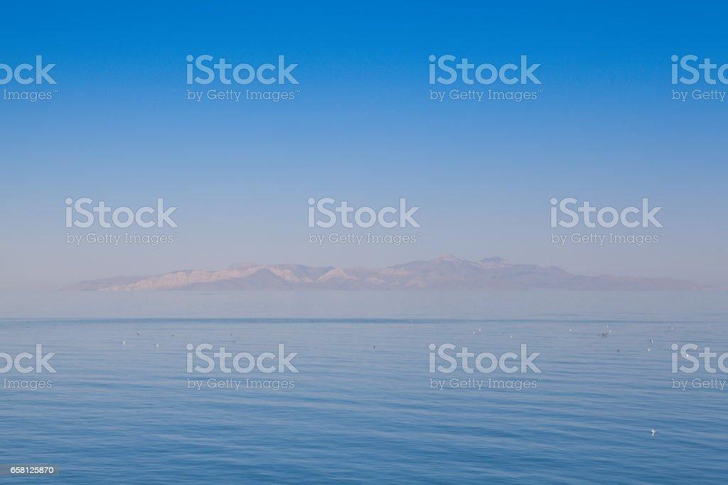 Antelope Island stock photo