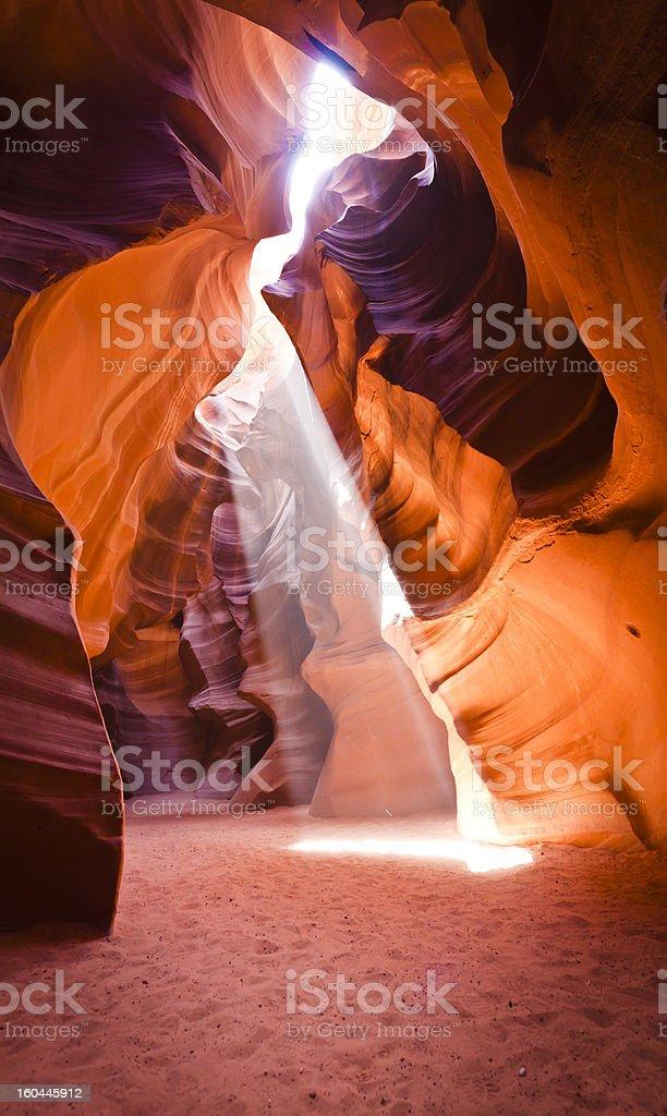 Antelope Slot Canyon royalty-free stock photo
