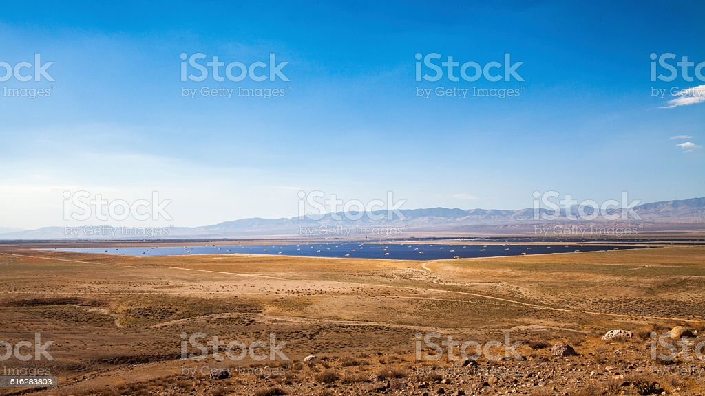 Antelope Valley Solar Ranch royalty-free stock photo