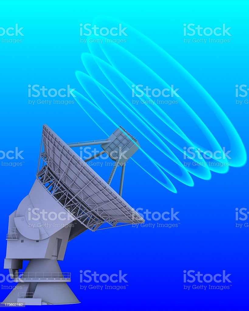 antenna and communication royalty-free stock photo