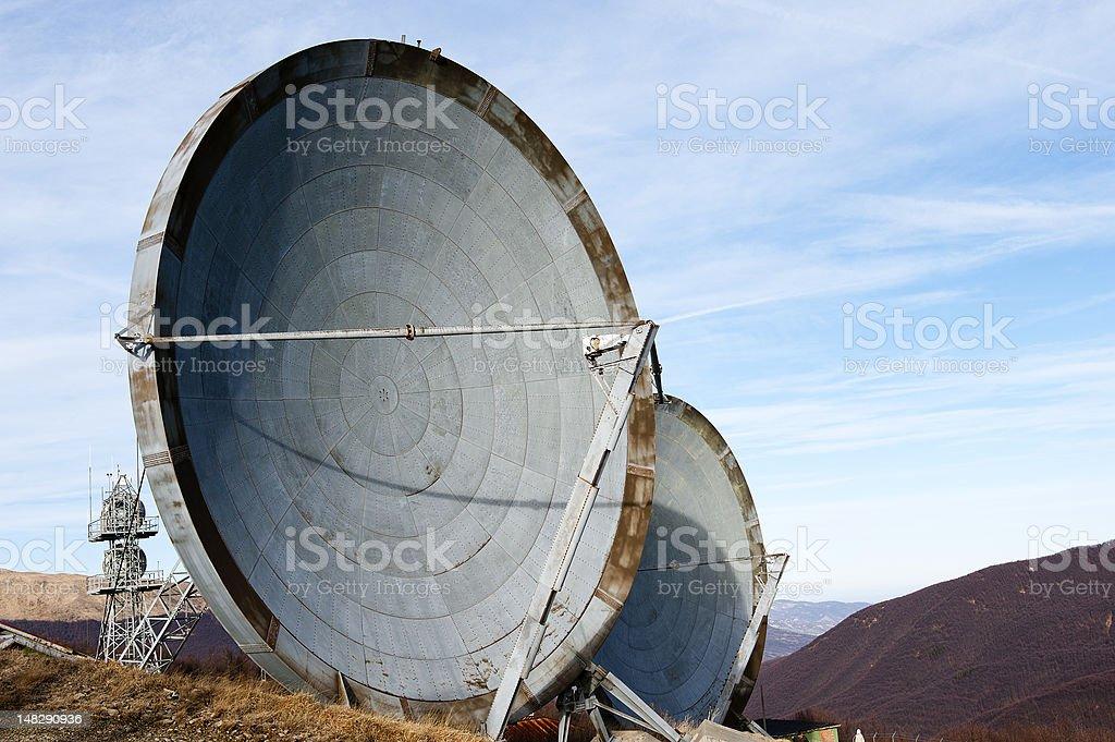 antenna communication royalty-free stock photo