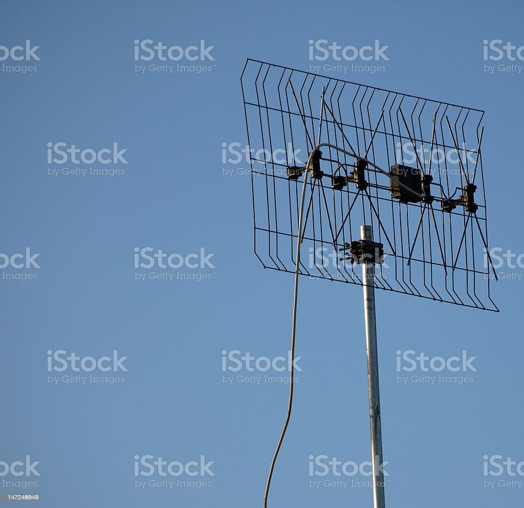 TV Antenna stock photo