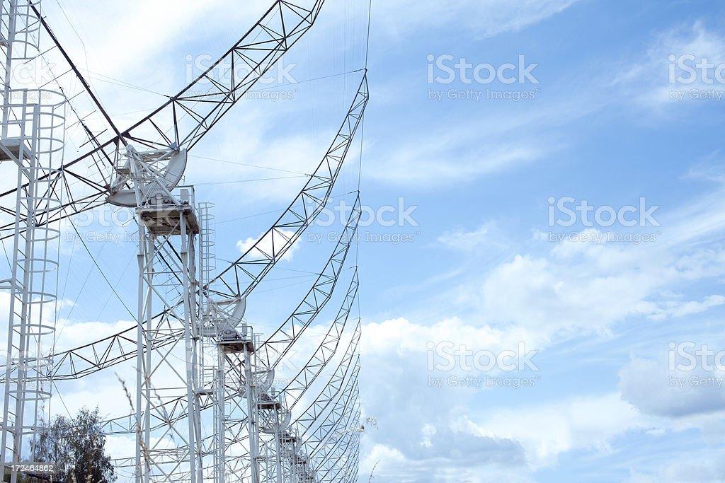 Antenna. royalty-free stock photo