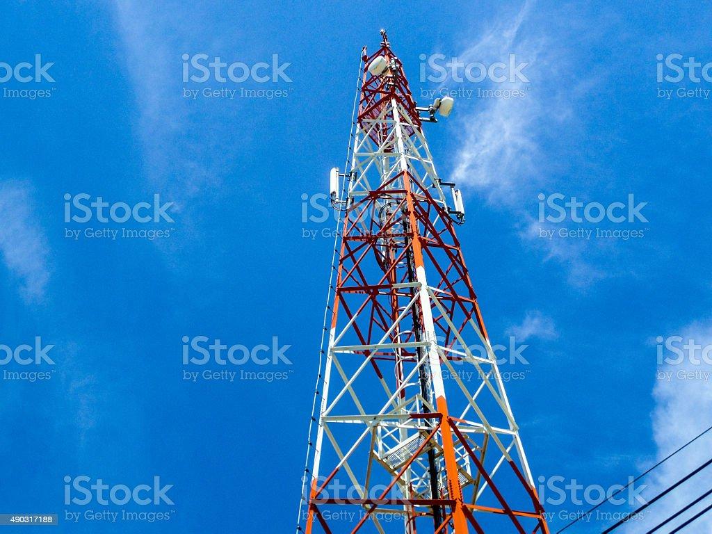 antenna stock photo