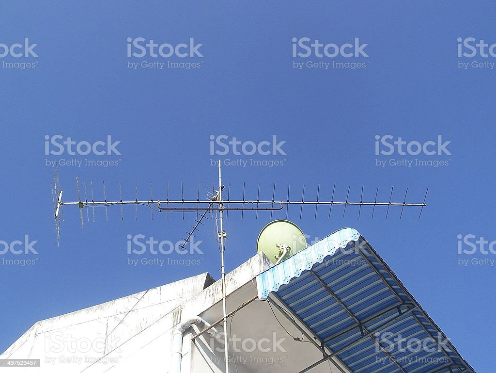 antenna royalty-free stock photo
