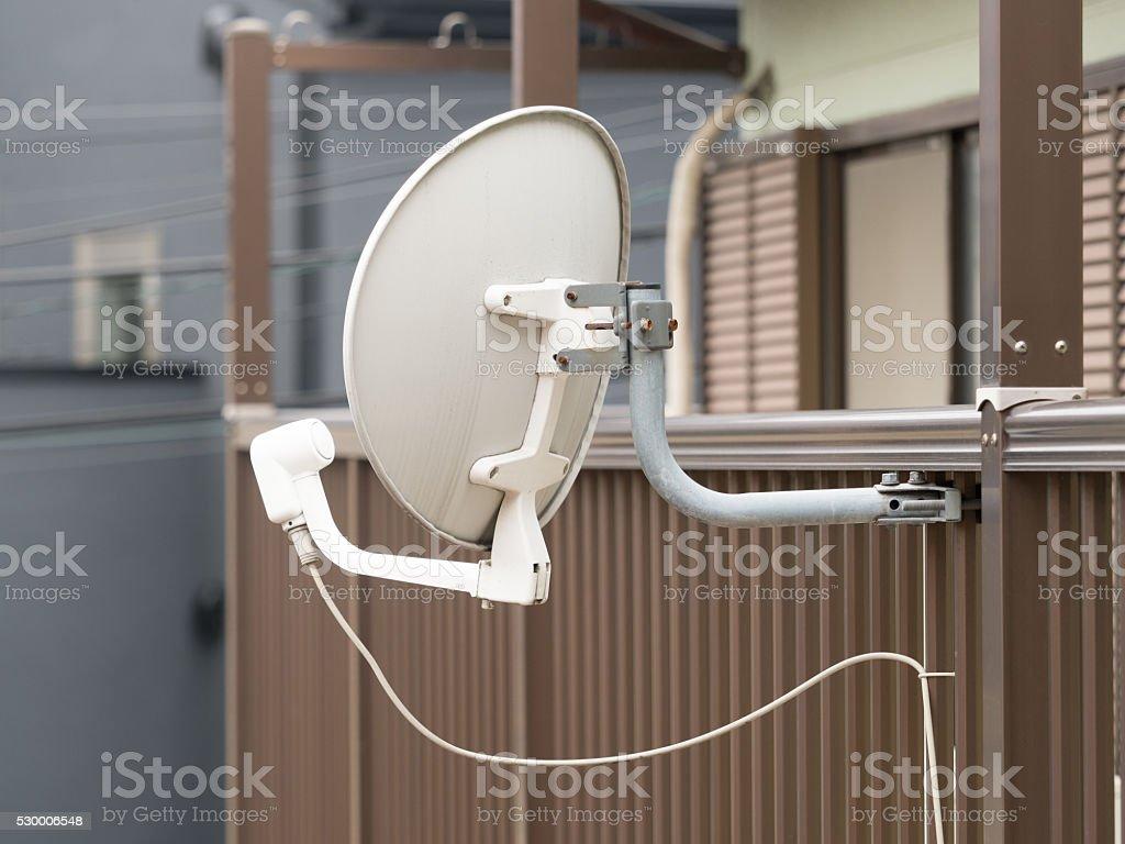 BS antenna stock photo