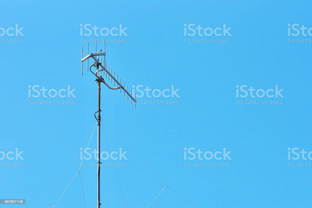 antenna stock photo