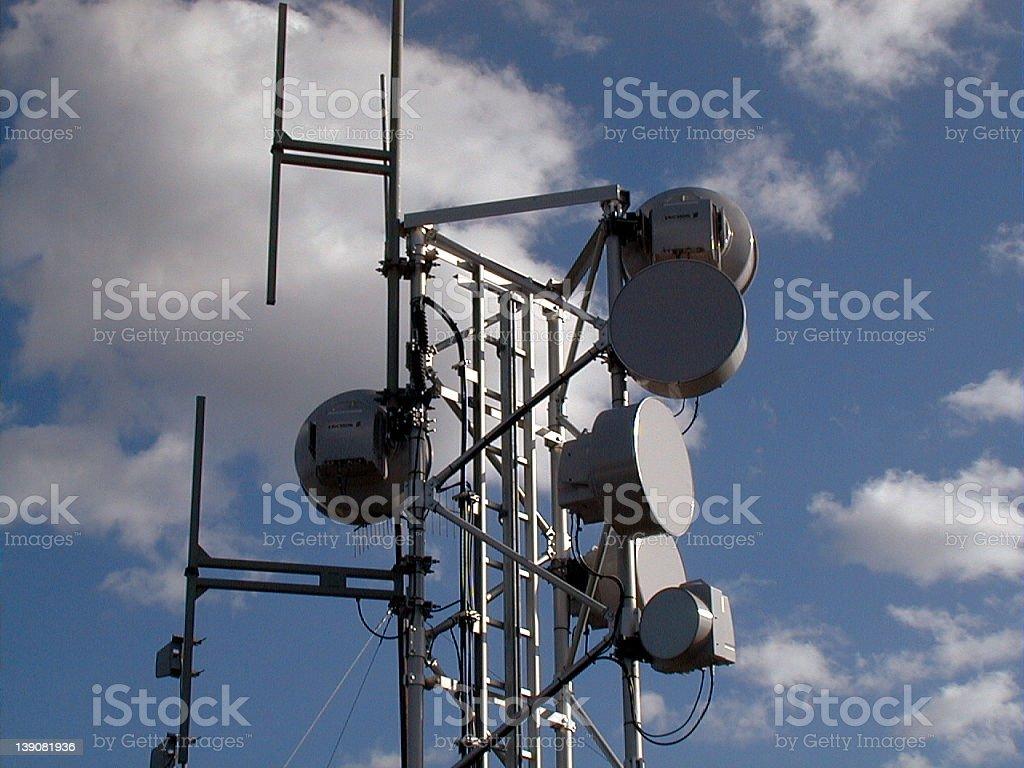 Antenna Tower stock photo