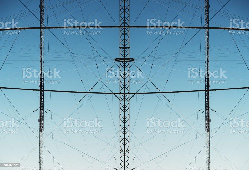 Antennae stock photo