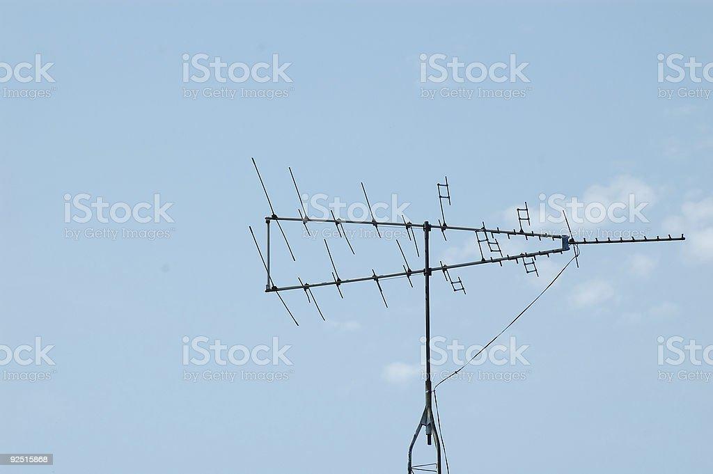 TV Antennae royalty-free stock photo