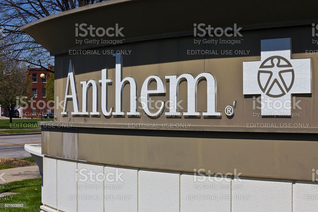 Indianapolis - April 2016: Anthem World Headquarters V stock photo