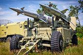 Anti aircraft missiles S-125 Newa
