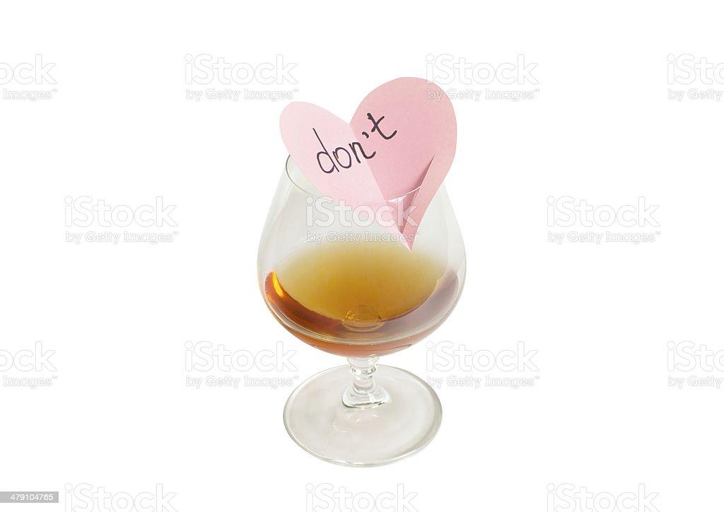 anti alcoholism stock photo