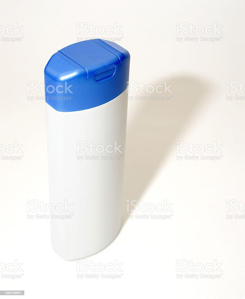 Anti dandruff shampoo bottle royalty-free stock photo
