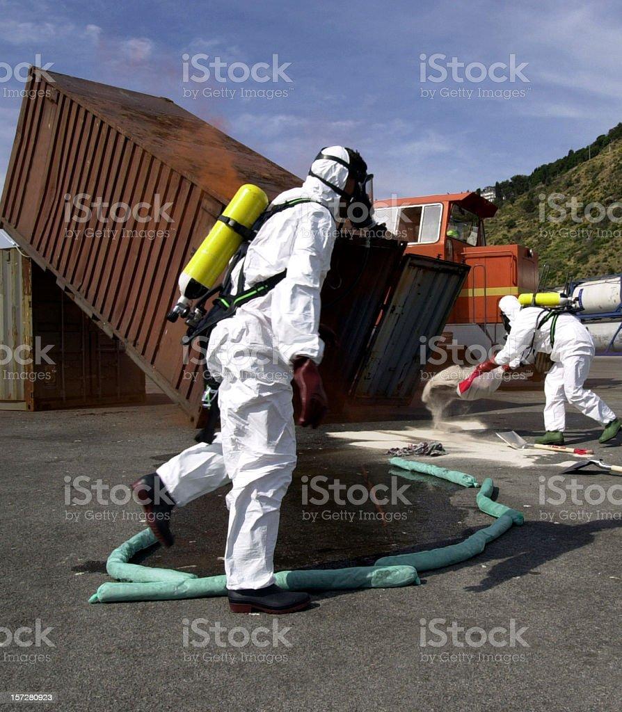 Anti Pollution Squad I stock photo