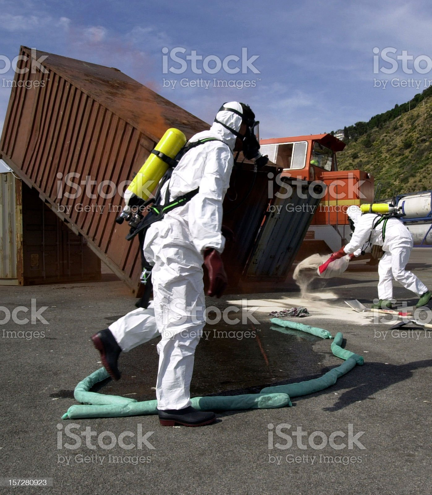 Anti Pollution Squad I royalty-free stock photo