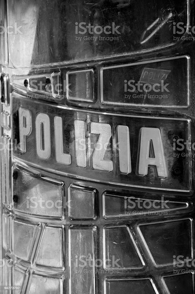 Anti riot Shield royalty-free stock photo