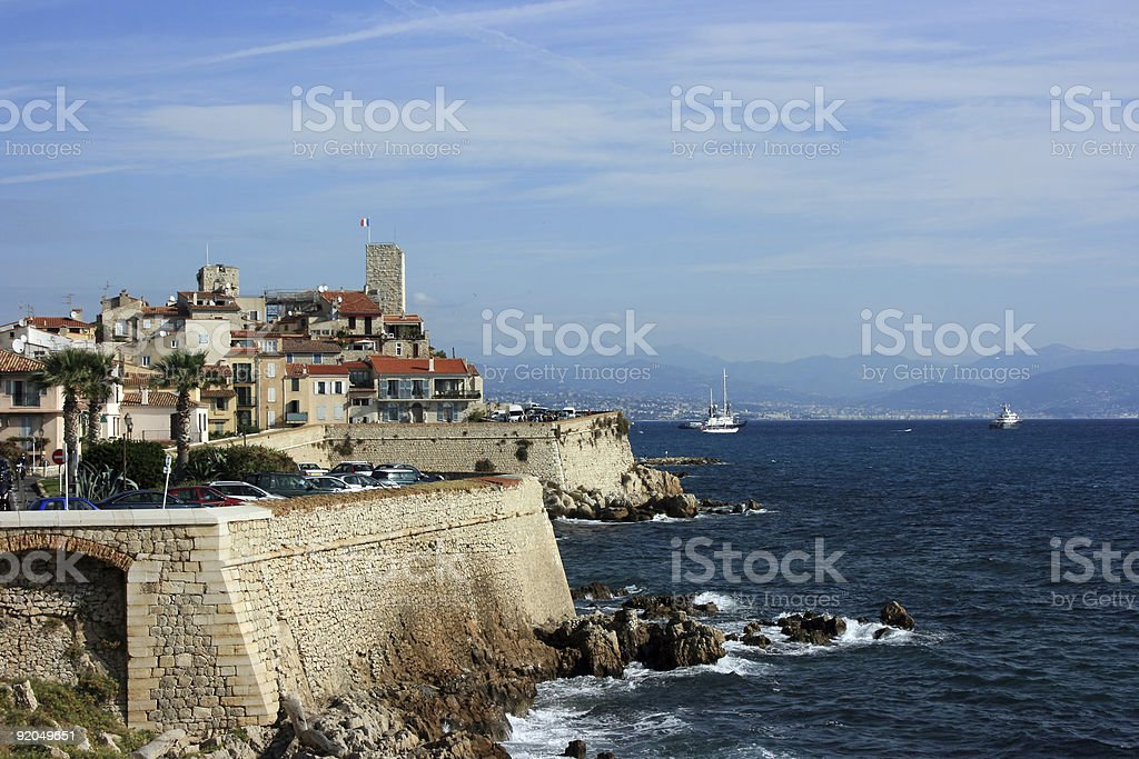 Antibes at day 2 stock photo