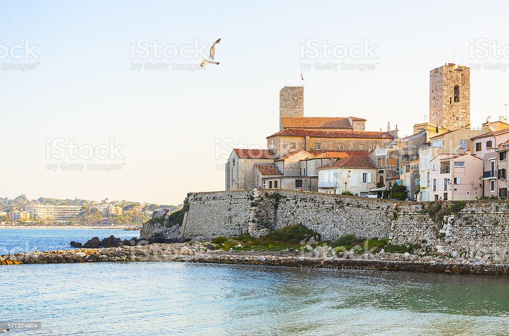 Antibes, French Riviera stock photo