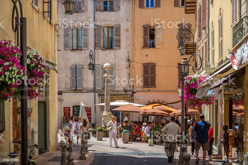 Antibes - French Riviera - South of France stock photo