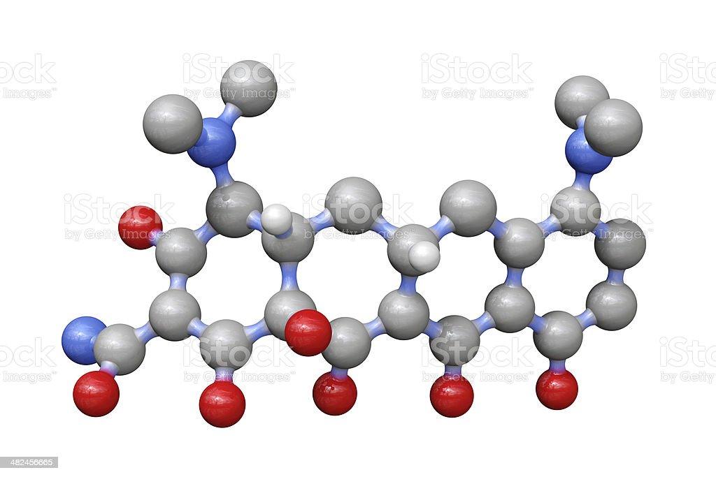 Antibiotic Drug Minocycline stock photo