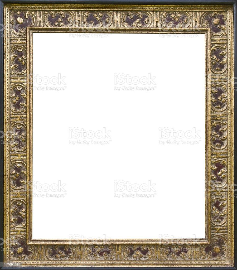 antic golden frame royalty-free stock photo