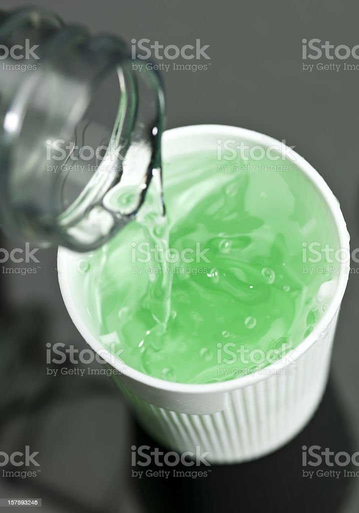 anticavity fluoride rinse stock photo