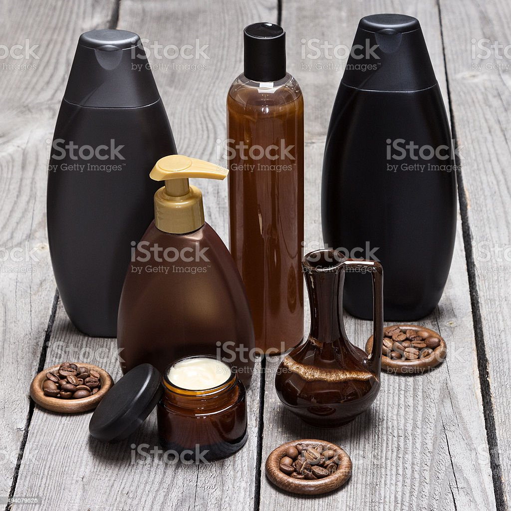 Anti-cellulite cosmetics based on caffeine stock photo