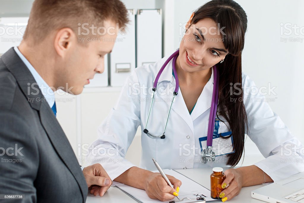 Antidepressant or man sexual potency cure stock photo