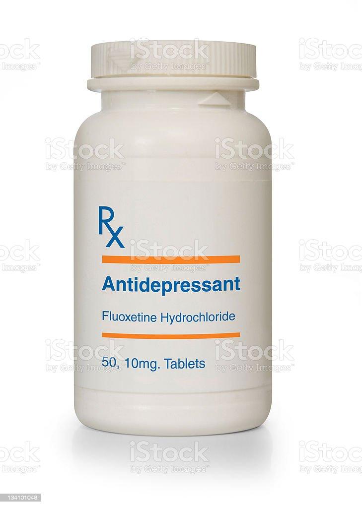 Antidepressant royalty-free stock photo